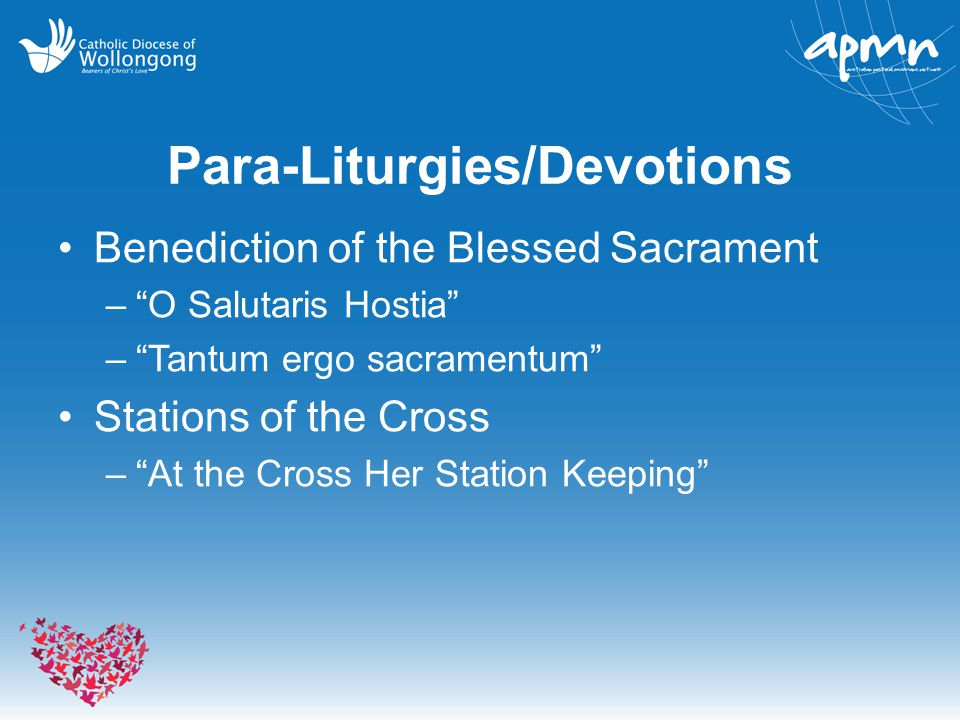 Para-Liturgies/Devotions