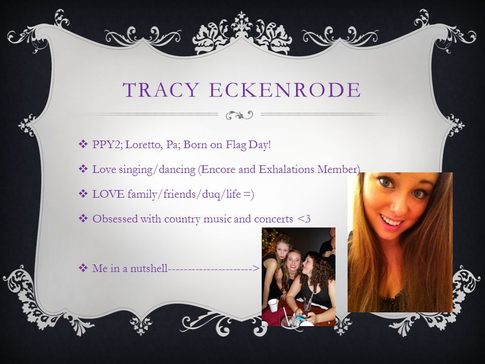 Tracy Eckenrode PPY2; Loretto, Pa; Born on Flag Day!