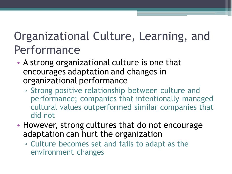 Organizational culture polarities hold the key to a healthy culture