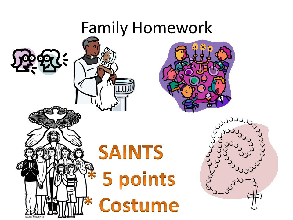 SAINTS * 5 points * Costume