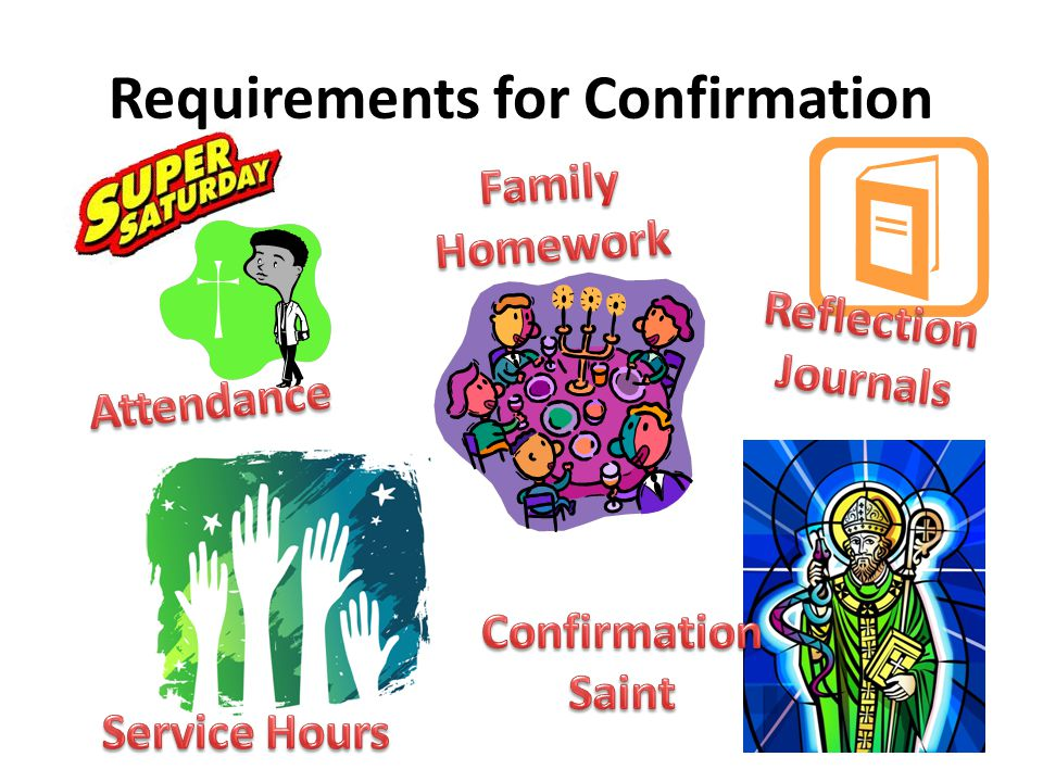 Requirements for Confirmation