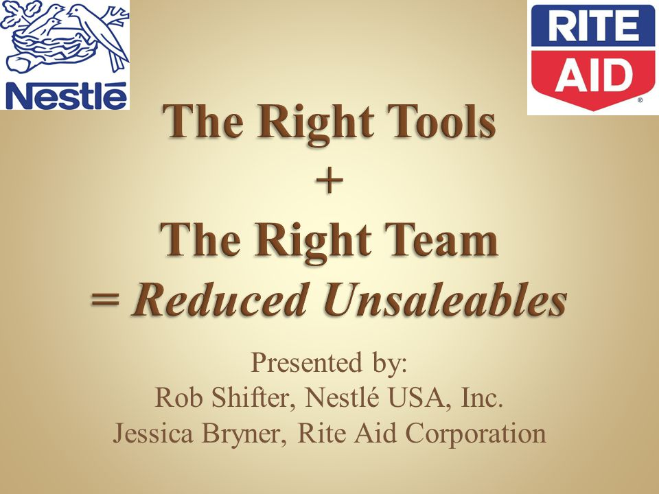 The Right Tools + The Right Team = Reduced Unsaleables