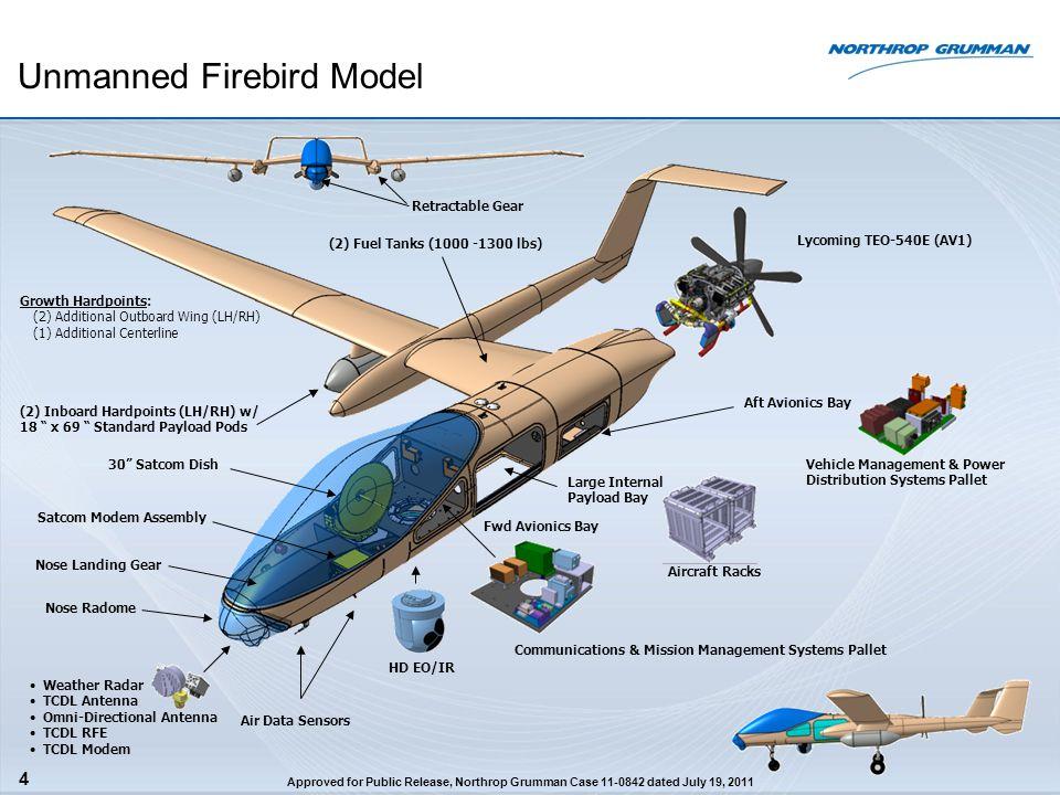 Unmanned Firebird Model