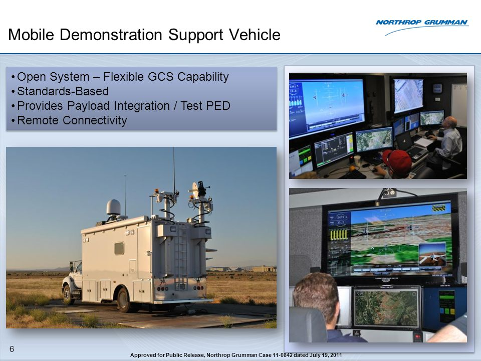 Mobile Demonstration Support Vehicle