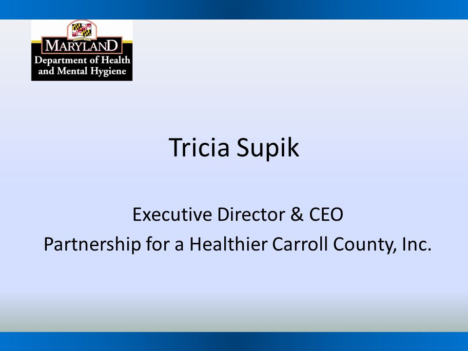 Tricia Supik Executive Director & CEO