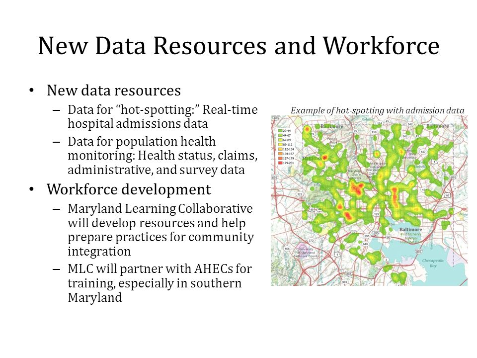 New Data Resources and Workforce