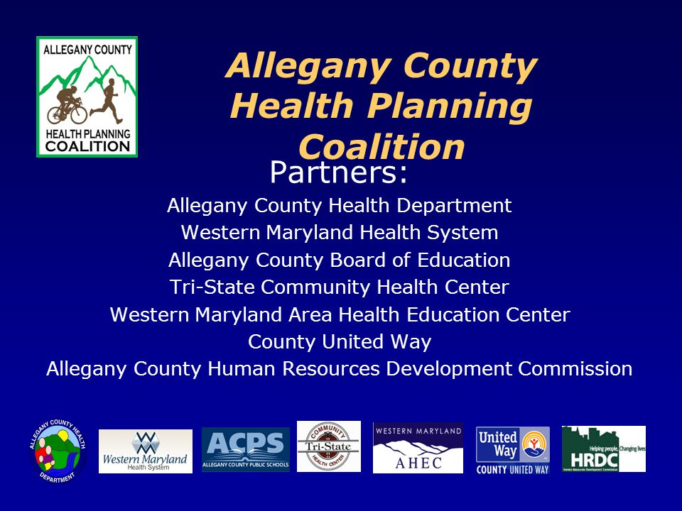 Allegany County Health Planning Coalition