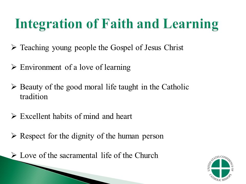 Integration of Faith and Learning