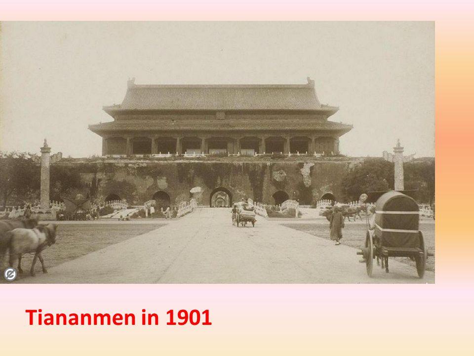 Tiananmen in 1901