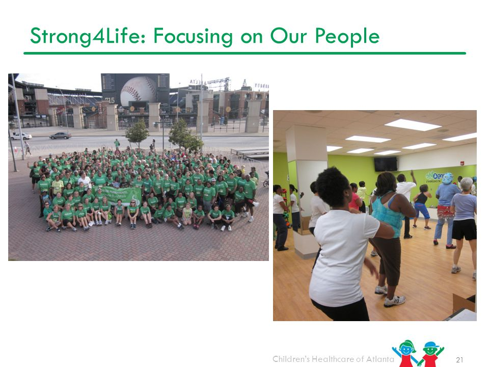 Strong4Life: Focusing on Our People