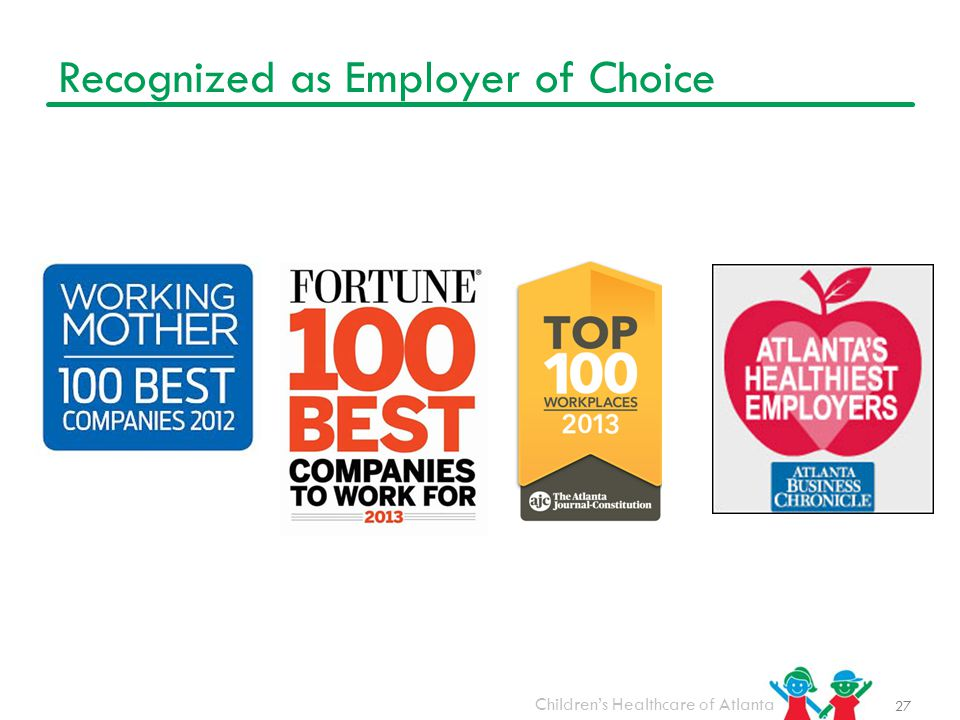 Recognized as Employer of Choice