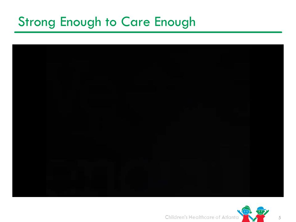 Strong Enough to Care Enough