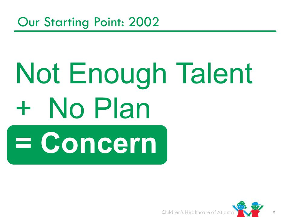 Not Enough Talent + No Plan = Concern