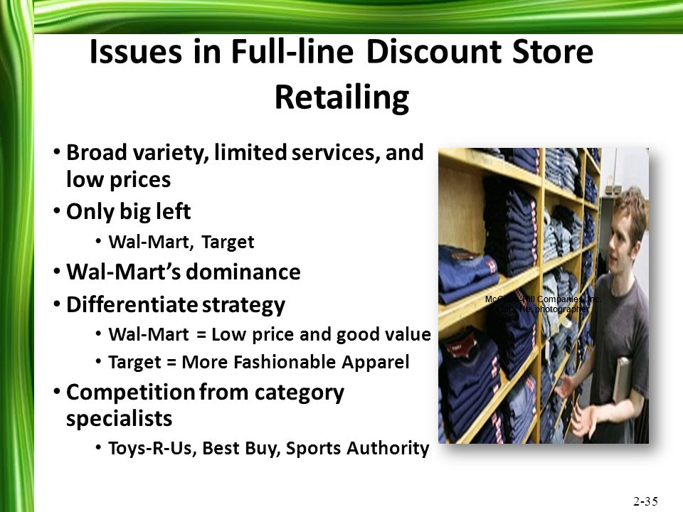 Issues in Full-line Discount Store Retailing
