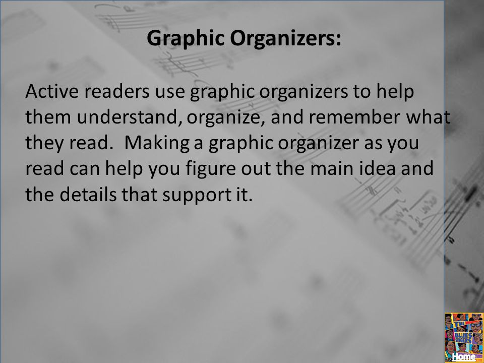 Graphic Organizers: