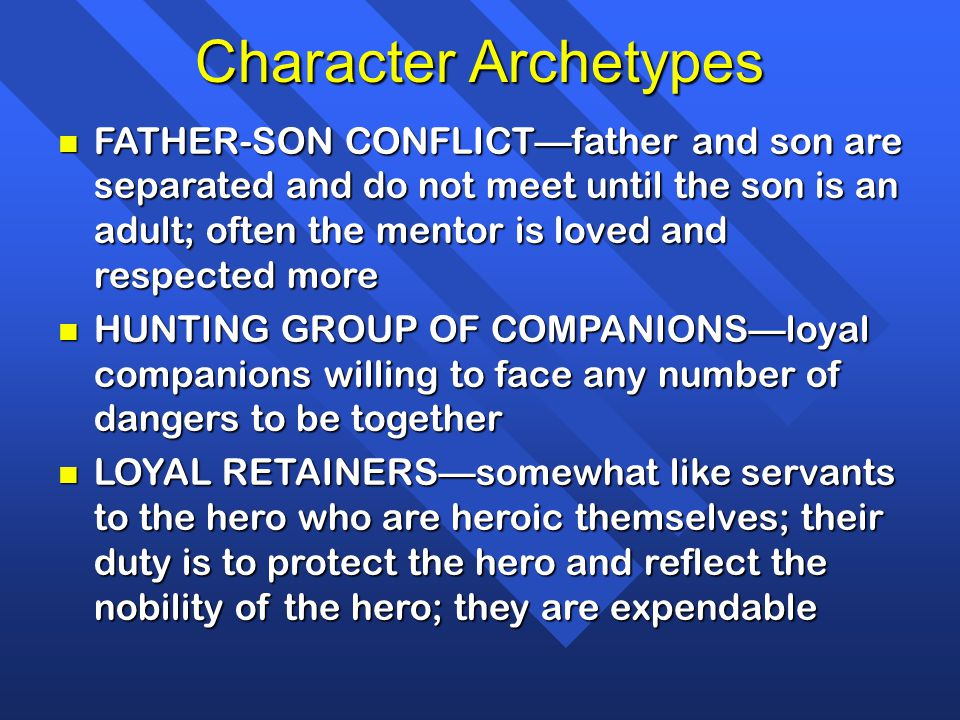 king arthur archetypal hero Just as the knights of king arthur's round table set off to seek the holy grail, says mary henderson, author of starwars: the hero within: six archetypes we live by harper san francisco 3rd edition vogler, christopher 1998.