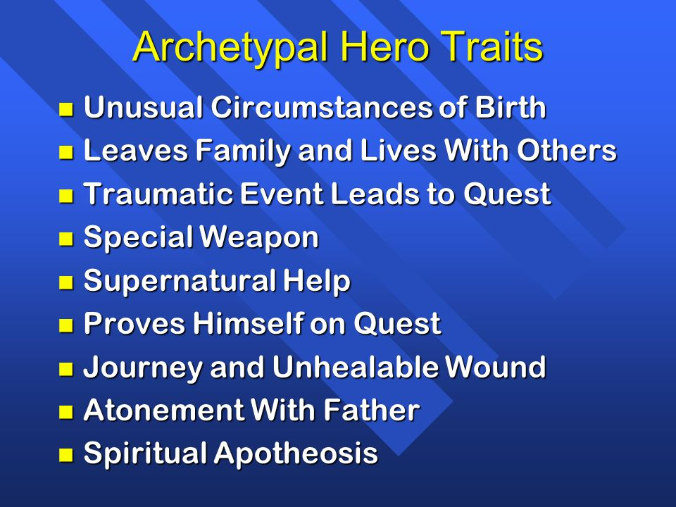 Archetypal Hero Traits