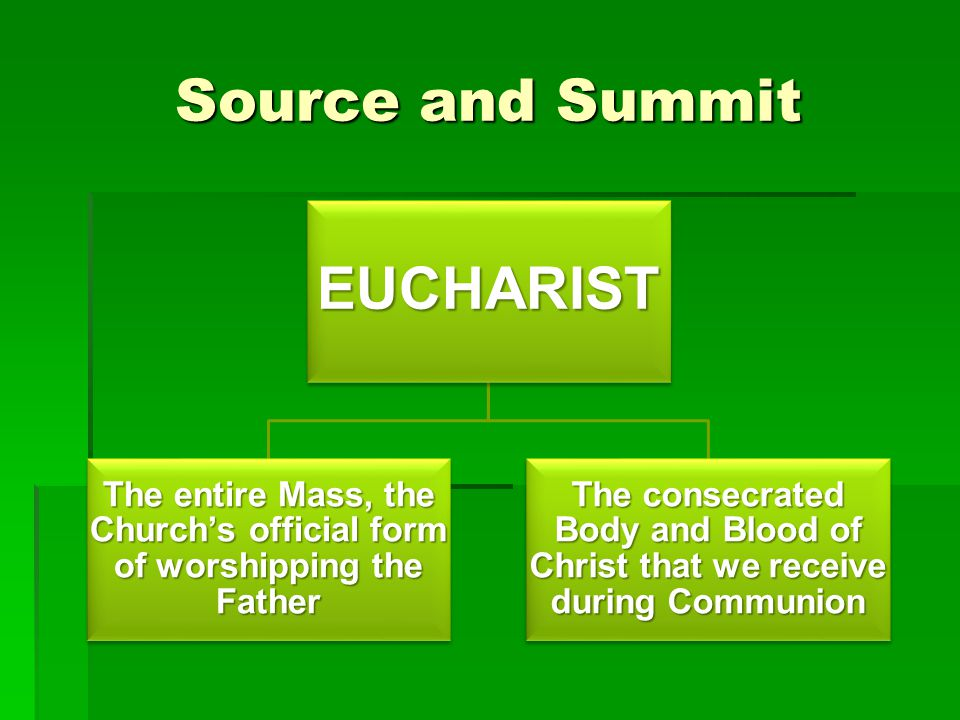 The entire Mass, the Church's official form of worshipping the Father
