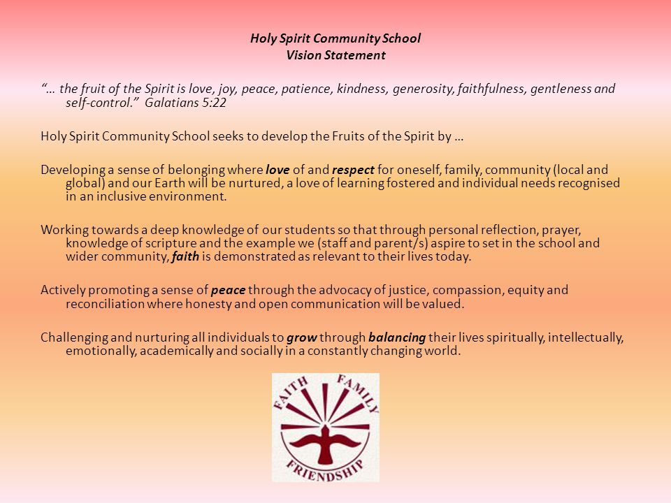 Holy Spirit Community School