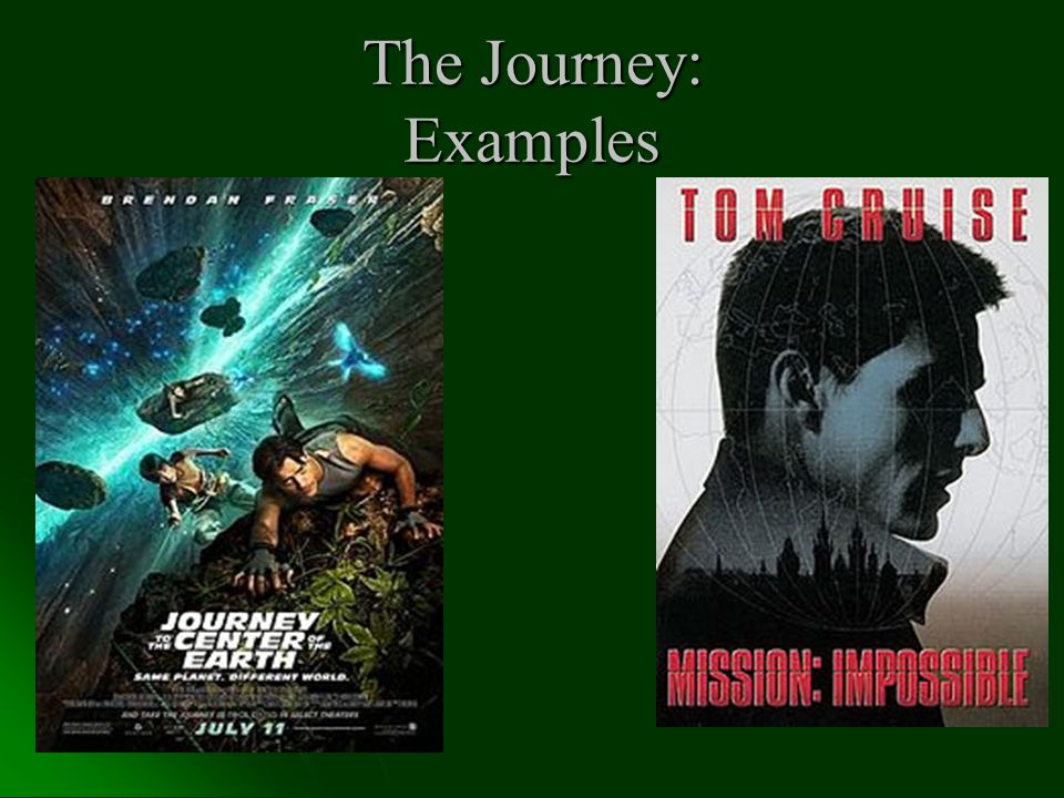 The Journey: Examples