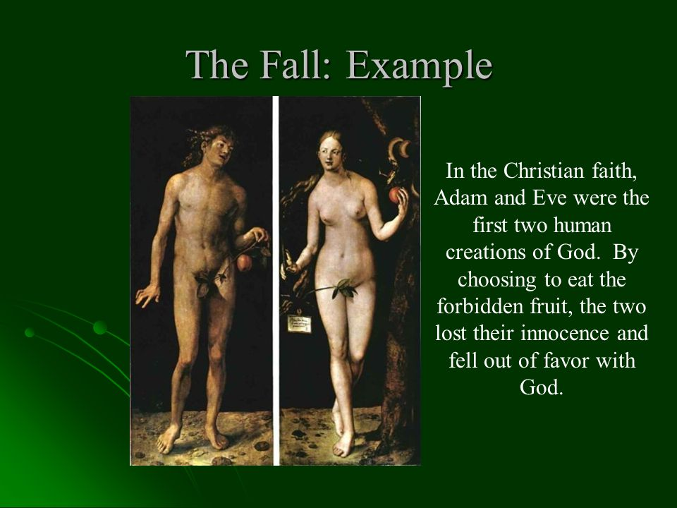 The Fall: Example