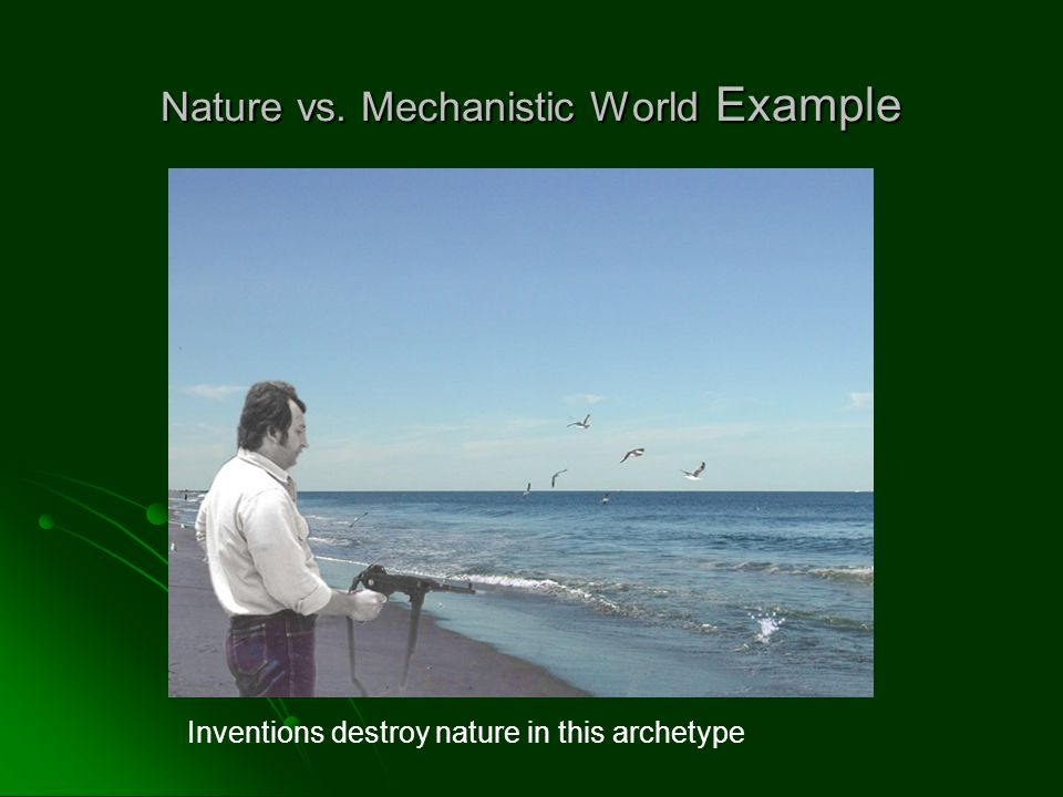 Nature vs. Mechanistic World Example