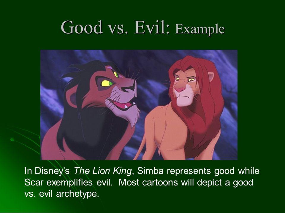 Good vs. Evil: Example