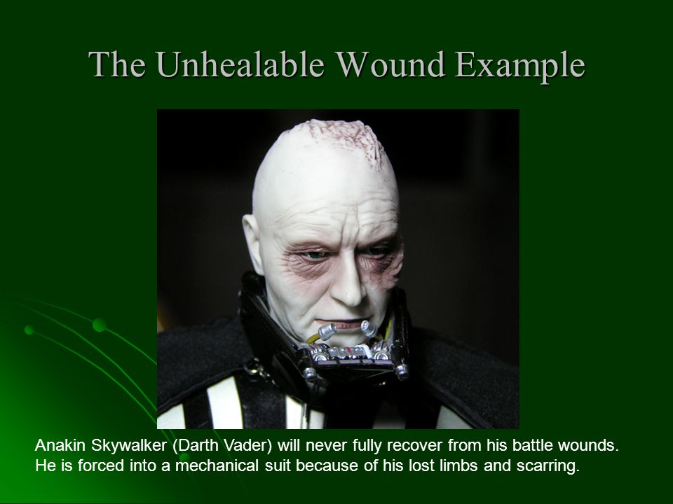 The Unhealable Wound Example
