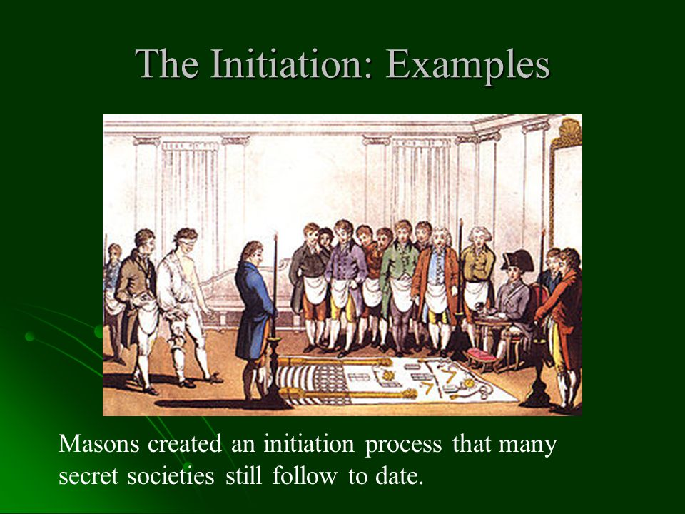 The Initiation: Examples