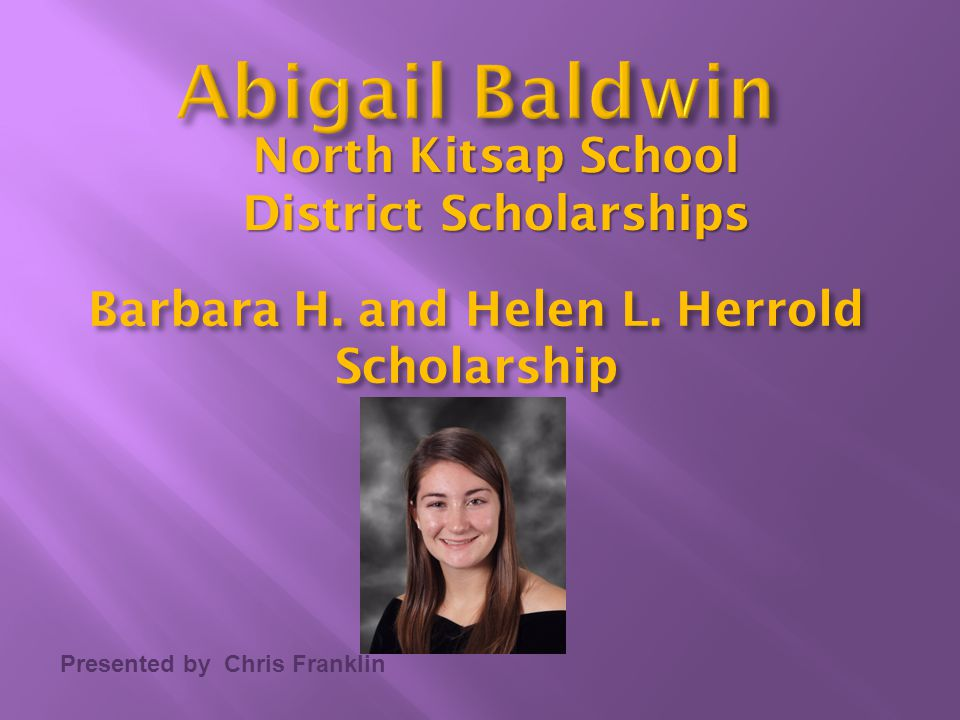 North Kitsap School District Scholarships