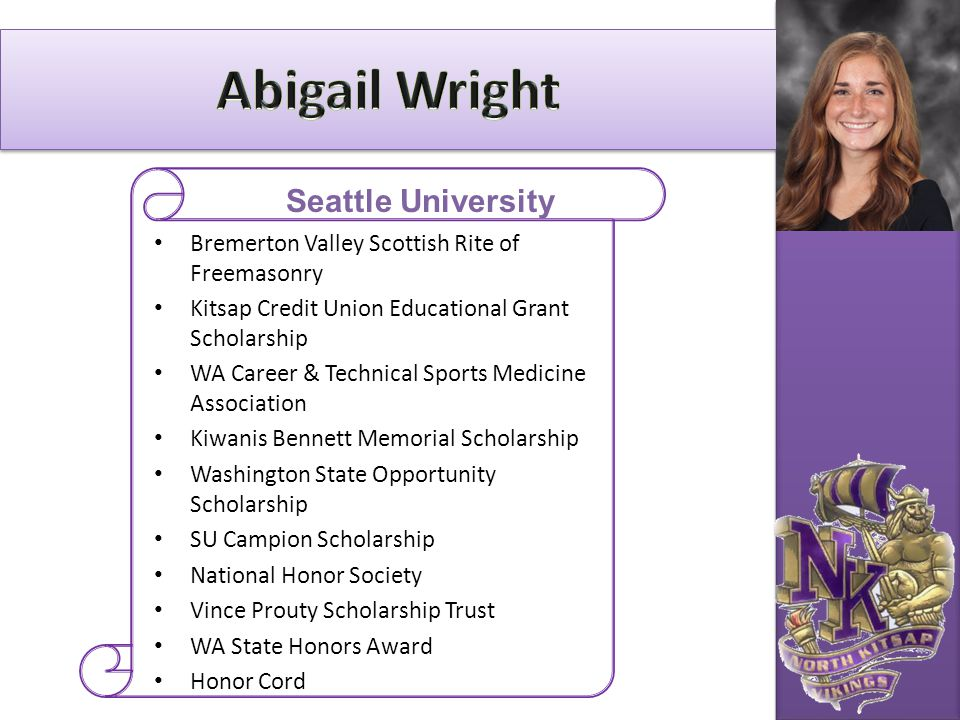 Abigail Wright Seattle University