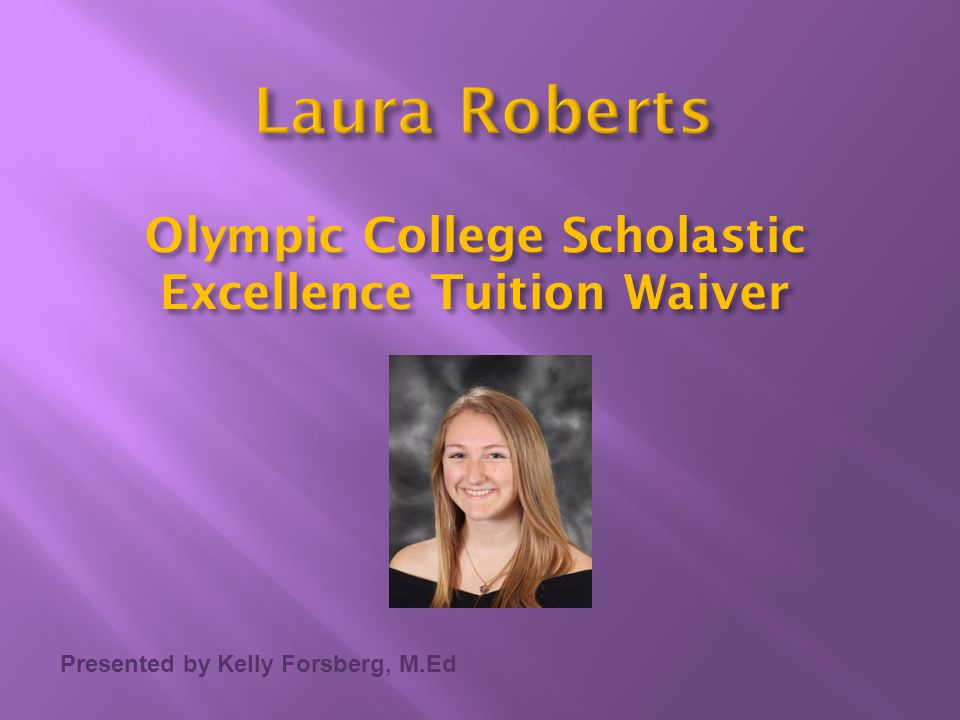 Olympic College Scholastic Excellence Tuition Waiver