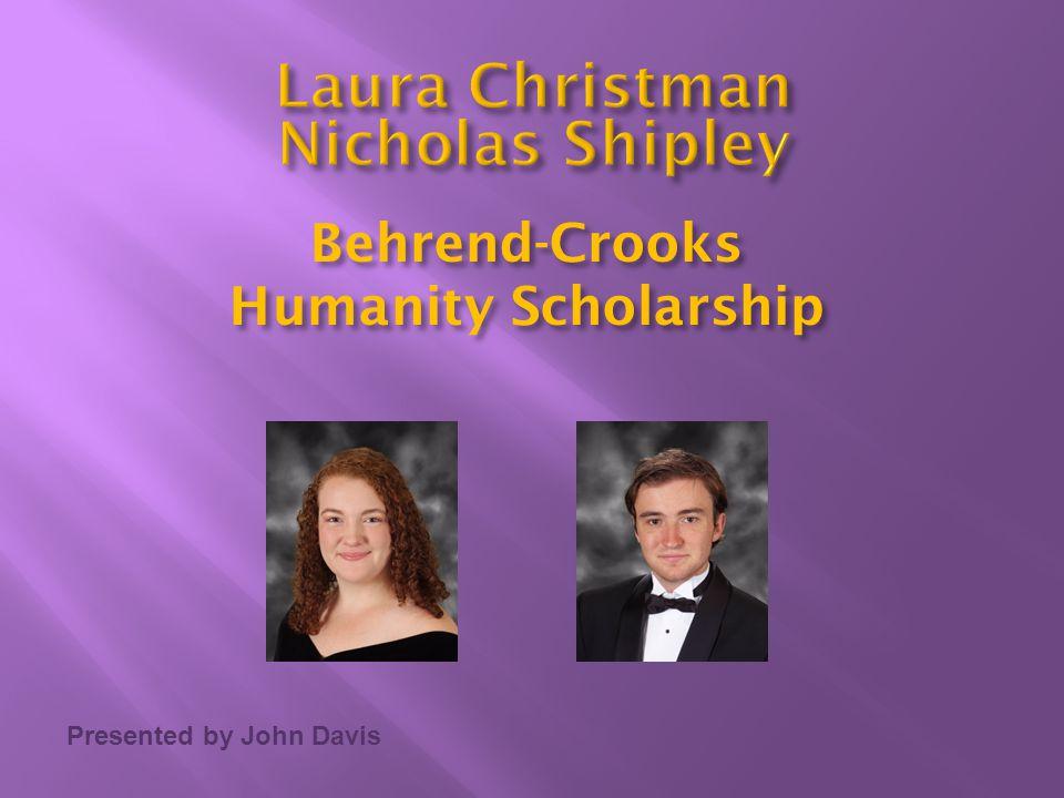 Laura Christman Nicholas Shipley
