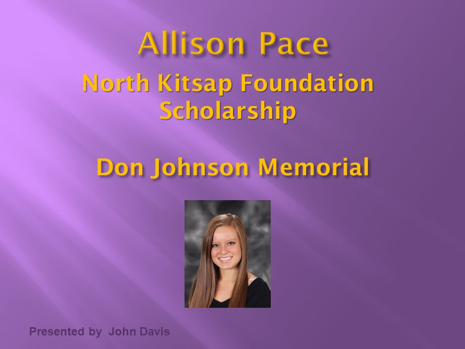 North Kitsap Foundation Scholarship