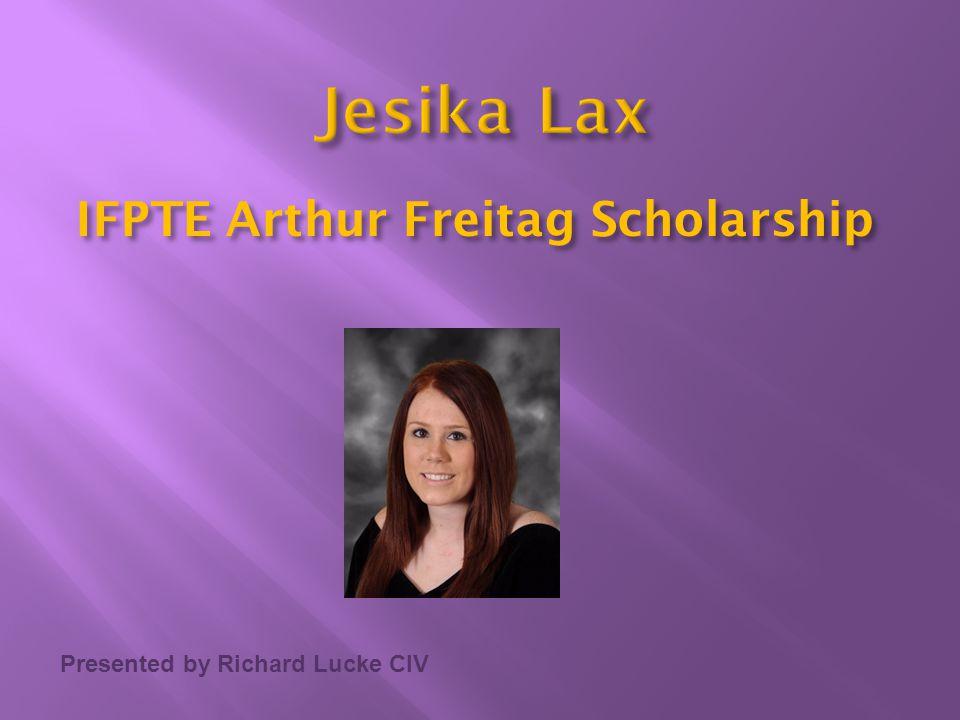 IFPTE Arthur Freitag Scholarship
