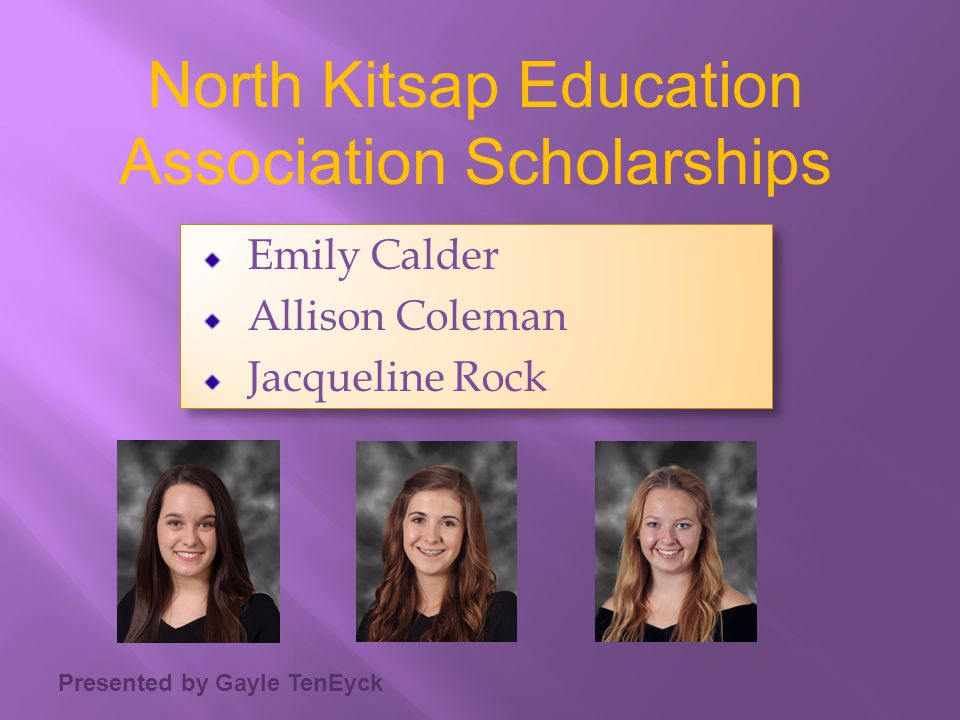 North Kitsap Education Association Scholarships