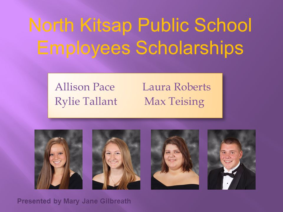 North Kitsap Public School Employees Scholarships