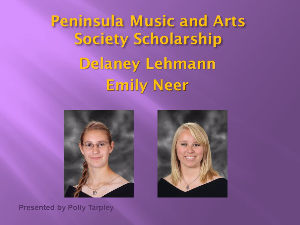 Peninsula Music and Arts Delaney Lehmann Emily Neer