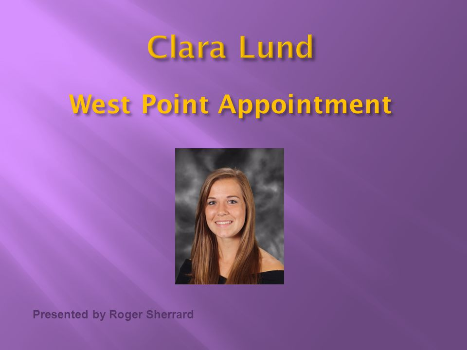 West Point Appointment