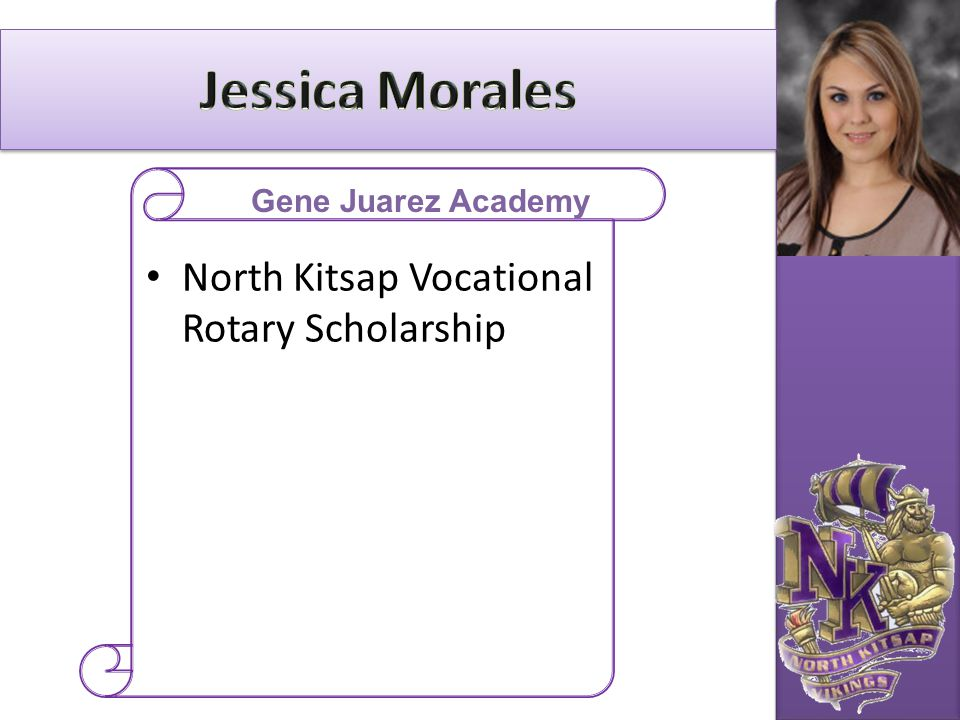 Jessica Morales North Kitsap Vocational Rotary Scholarship
