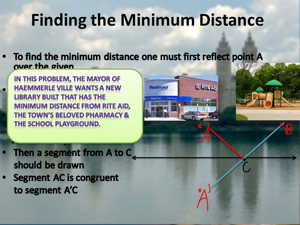 Finding the Minimum Distance