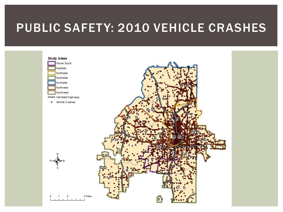 PUBLIC SAFETY: 2010 Vehicle Crashes