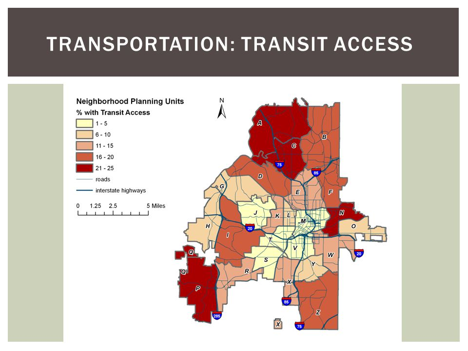 Transportation: Transit Access