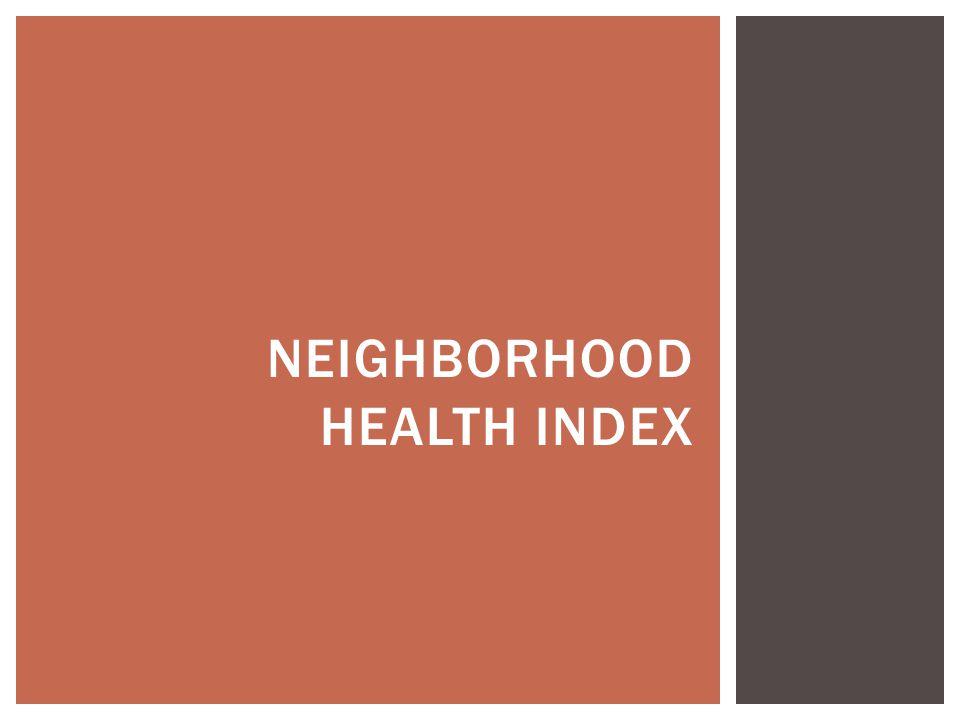 Neighborhood Health Index