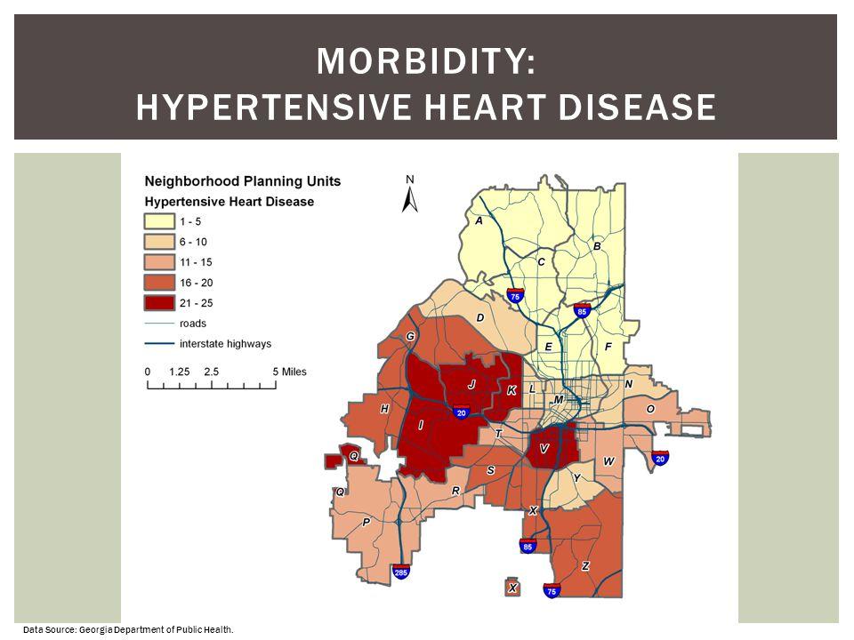 Morbidity: Hypertensive Heart Disease