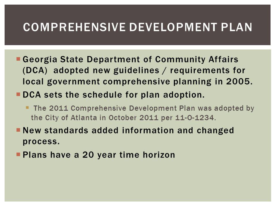 Comprehensive Development Plan