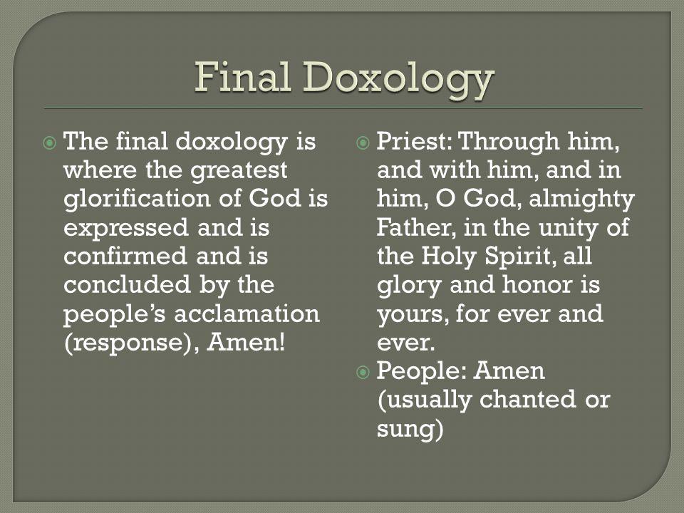 Final Doxology