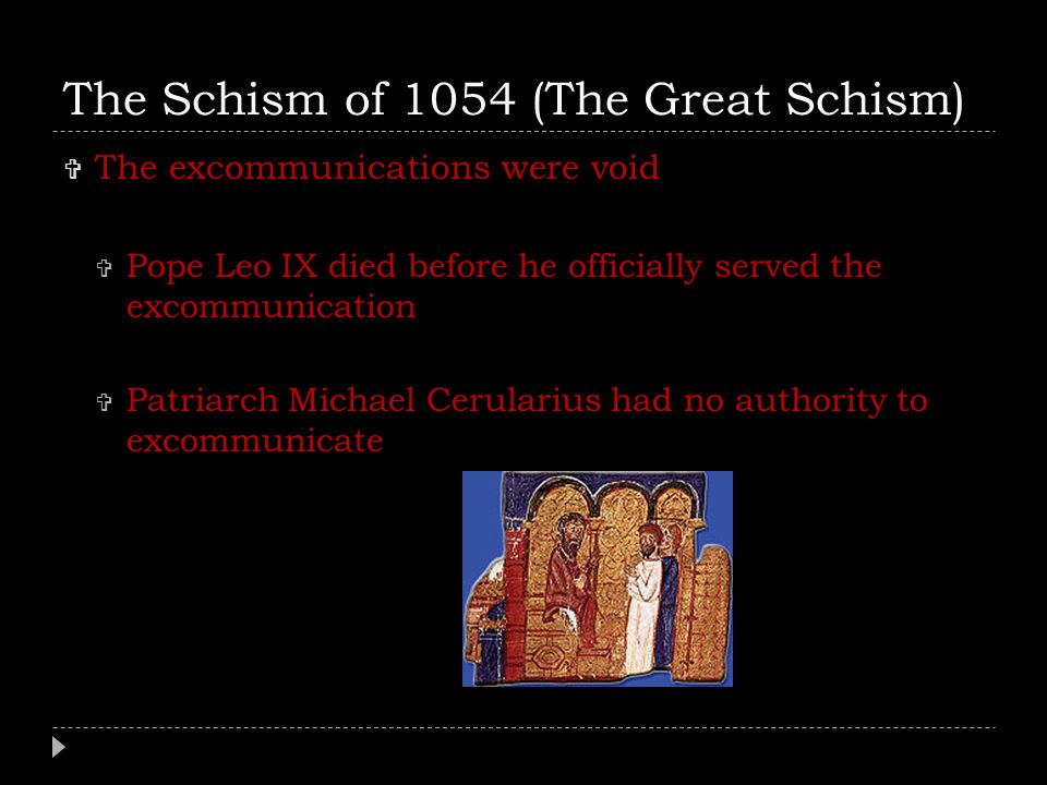 great schism 1054 essay The great schism 1054 essays so in short i love 'network' and i'm saying the exact same things some blowhard probably put in their film studies essay.
