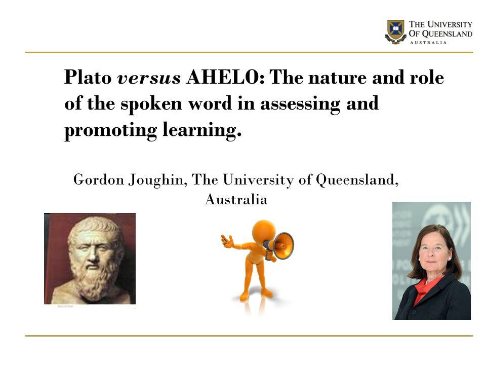 Gordon Joughin, The University of Queensland, Australia
