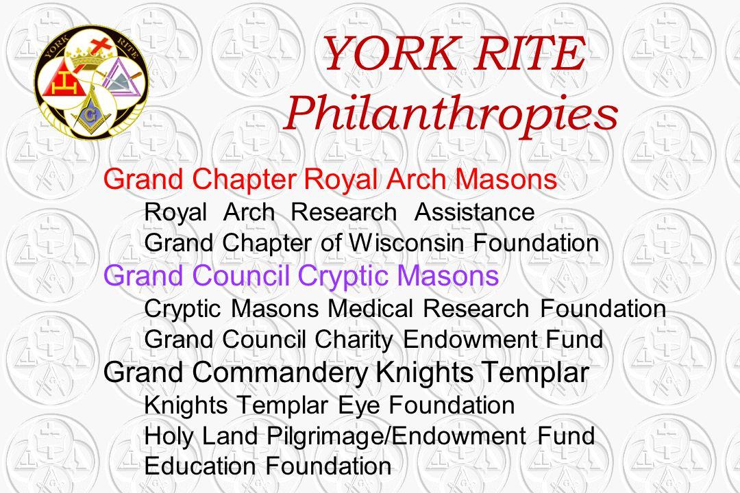 YORK RITE Philanthropies